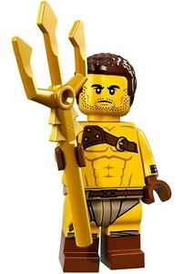 Genuine-Lego-71018-Series-17-Minifigure-w-Poster-no-8-Roman-Gladiator-WH
