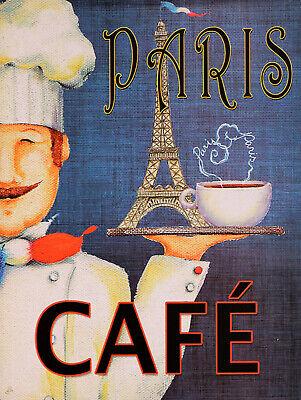 Coffee Retro replica vintage style metal tin sign gift Pub kitchen