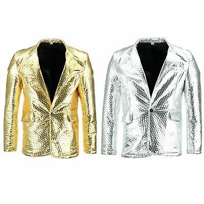 Shiny Metallic Embossed Jacket Firefly Party Dressing Up Exzellente QualitäT