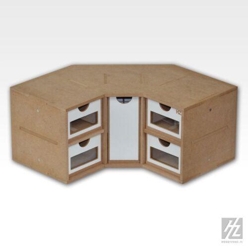 HobbyZone  MWS  Schubkasten Eck-Modul NEU  OM03 Corner Drawers Module