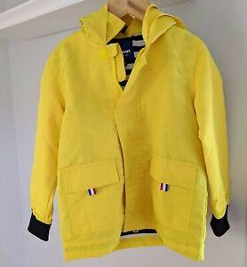 Hiheart Boys Girls Waterproof Hooded Jackets Cotton Lined Rain Coat
