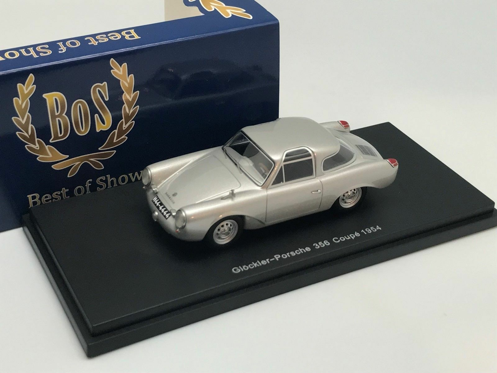 PORSCHE    GLOCKLER 356 COUPE 1954 - BoS BEST OF SHOW 1 43 NEUF 79165f