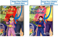 When I'm A Big Brother & When I'm A Big Sister (bb) By Bruce Lansky 2 Books