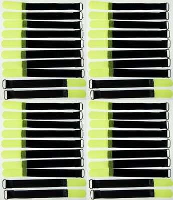 Sporting Goods Stage Lighting & Effects Systematic 40 Klettkabelbinder 160 X 16 Mm Neongelb Klett Kabelbinder Klettband Kabelklett