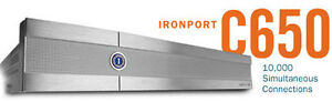 CISCO-IRONPORT-C650-EMAIL-SECURITY-APPLIANCE-SERVER-8GB-IRON-PORT