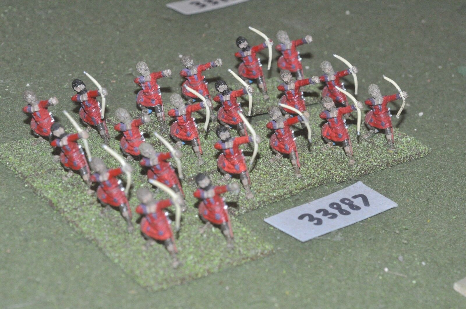 25mm roman era   roman - late archers 20 figures - inf (33887)