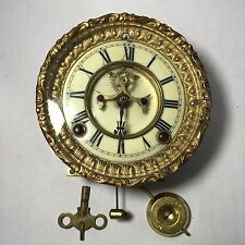 1881 Antique Ansonia Clock Co.  New York face and mechanism parts or repair