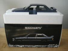 1:18 BMW M3 Street ED. E30 1987 Minichamps Diecast Dark Blue MEGA RARE LAST ONE