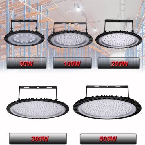LED High Low Bay Light UFO 50W 100W 200W 300W 500W Factory Warehouse Gym Light