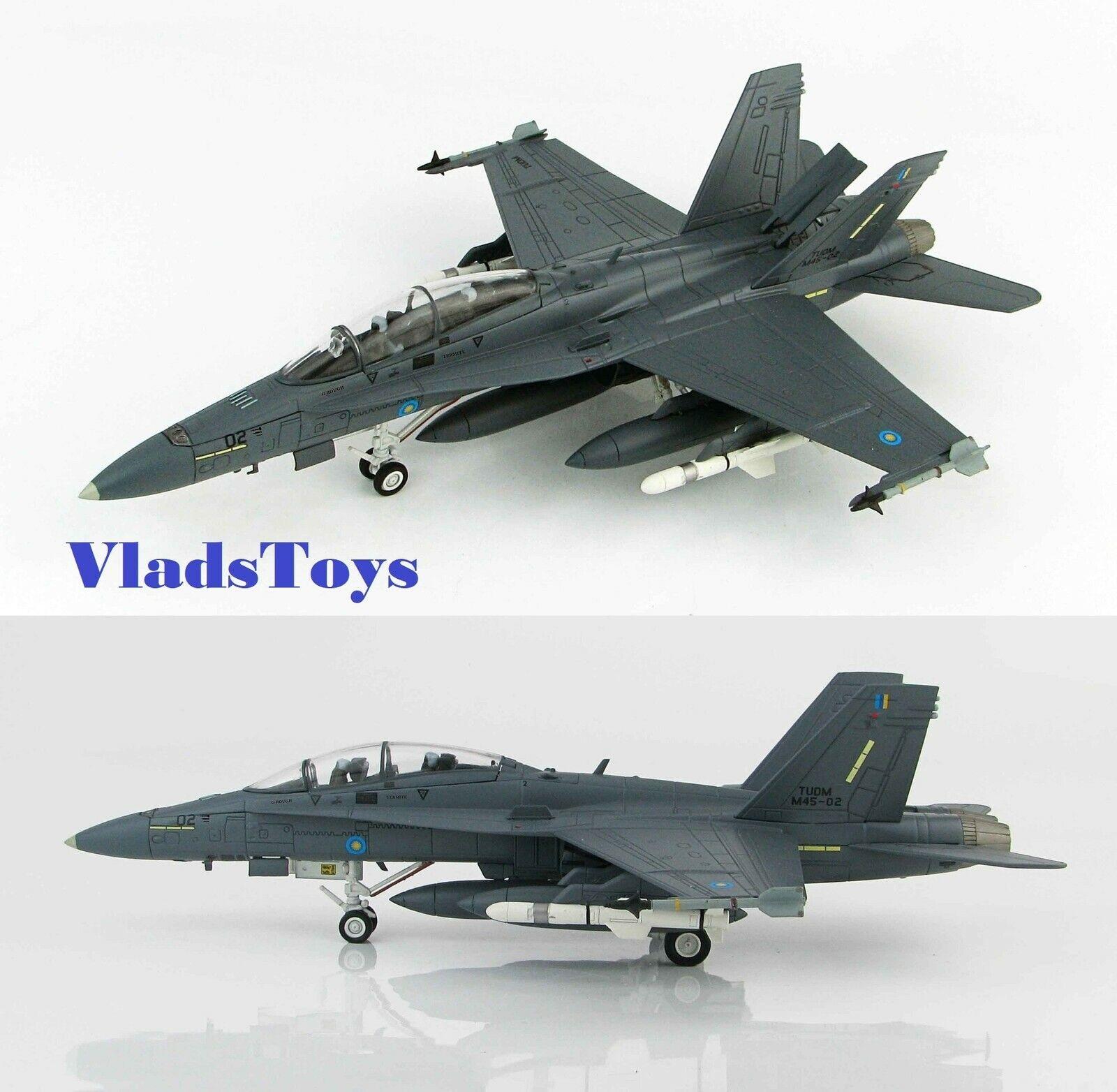Hobby Master 1 72 F A-18D Hornet tudm M45-02 Butterworth ab Malasia 2015 HA3541