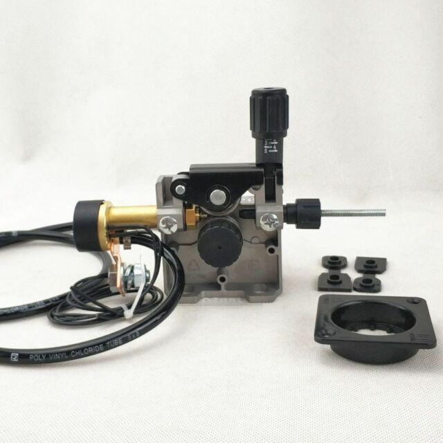 Soldering Wire Feeder Mig Welder Roll Wire Feed Motor 0.6-1.0mm DC 24V 10W Soldering Wire Feeder Machine