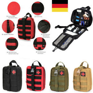 Details zu Outdoor Tactical Molle Emergency Rescue Medical Kit Tasche Pouch First Aid Bag