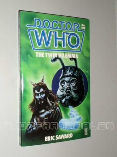 1 of 1 - Doctor Who - The Twin Dilemma (Target books)