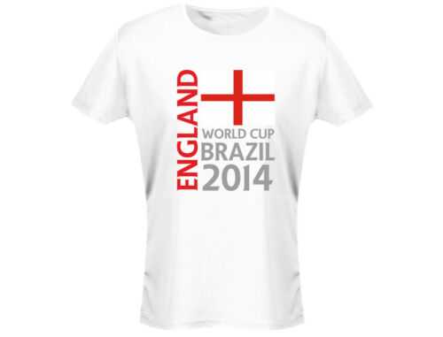 12 Colours England World Cup Brazil 2014 Womens T-Shirt