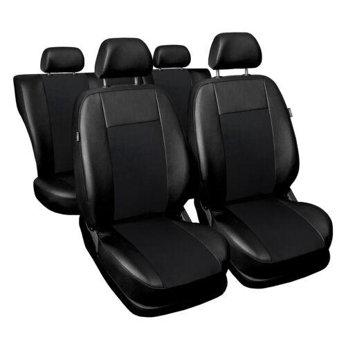 Universal Autositzbezüge für Volvo XC60 Schwarz Sitzbezüge Schonbezüge Superior