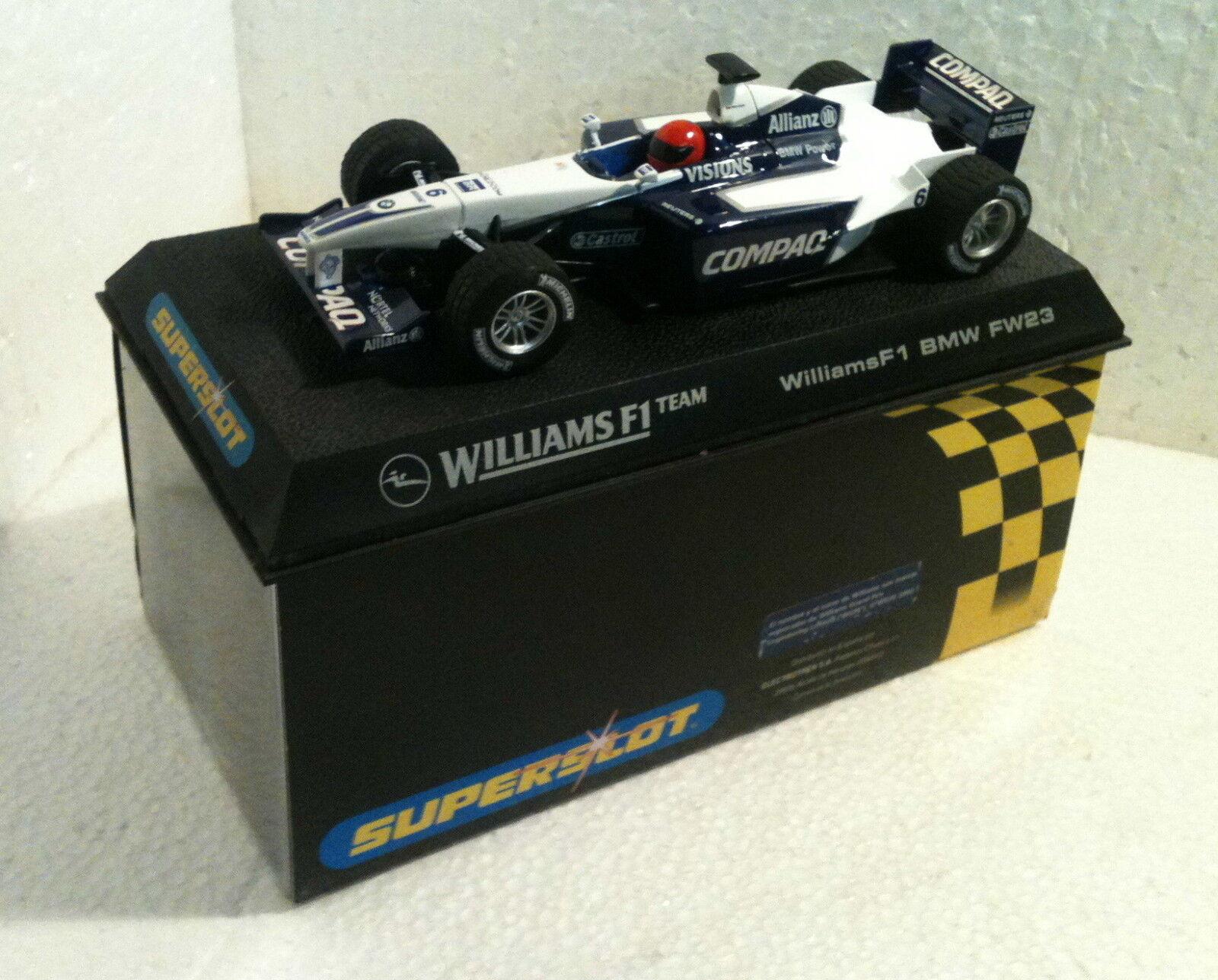 Qq H 2335 SUPERSLOT BMW WILLIAMS F1 FW23 MONTOYA - Scalextric UK