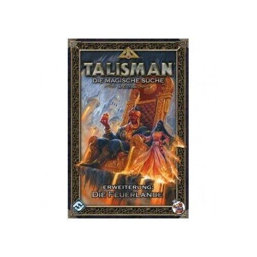 DE Talisman Fantasy Flight Games FFGD0062 FFG Die Feuerlande