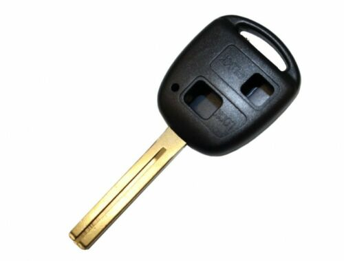 Schlüssel Gehäuse Rohling Zwei Tasten TOYOTA Aygo Corolla Avensis RAV TOY41 A169