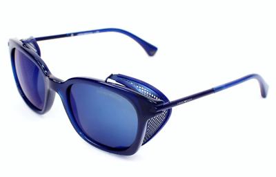 db4d98f338fd Authentic EMPORIO ARMANI 4028Z - 5208/96 Sunglasses Electric Blue *NEW* 52mm