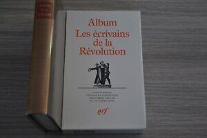 Album-La-Pleiade-Les-ecrivains-de-la-revolution-Ref-B10