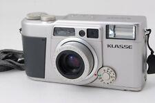 【AB- Exc】 Fujifilm KLASSE Silver 35mm Point & Shoot Film Camera From JAPAN #2623