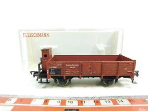 BJ359-0-5-Fleischmann-H0-DC-5209-Gueterwagen-Hochbordwagen-DRG-NEUW-OVP