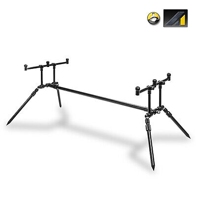 Max Performance Carp Fishing Rod Pod 3 Rod Type with Rests /& Buzz Bars