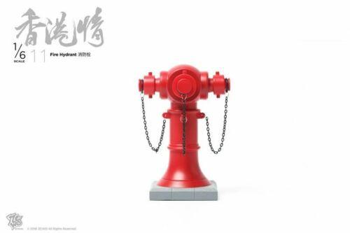 1//6 Scale Toy HK scène-Bouche d/'incendie-Comme neuf IN BOX