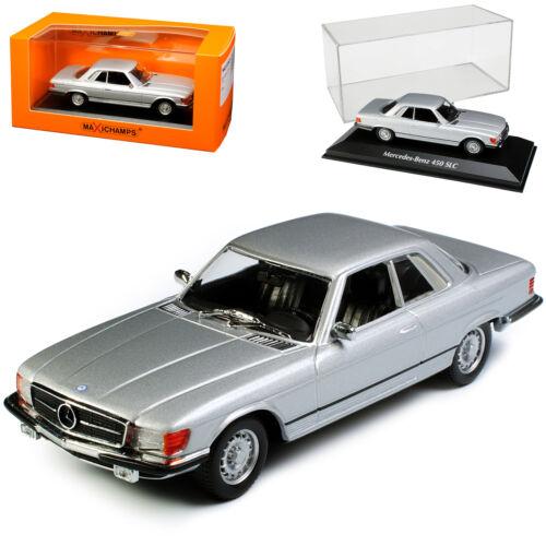 SL-clase de Mercedes-Benz 450 SLC Coupe plata R107 1971-1989 1:43 Minichamps Ma...