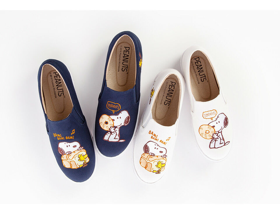 Licensed Peanuts  Donut  Snoopy - Slip On Turnschuhe - Snoopy Peanuts Collection 158bef