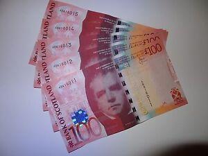 Bank of Scotland £100 banknote, UNC condition,