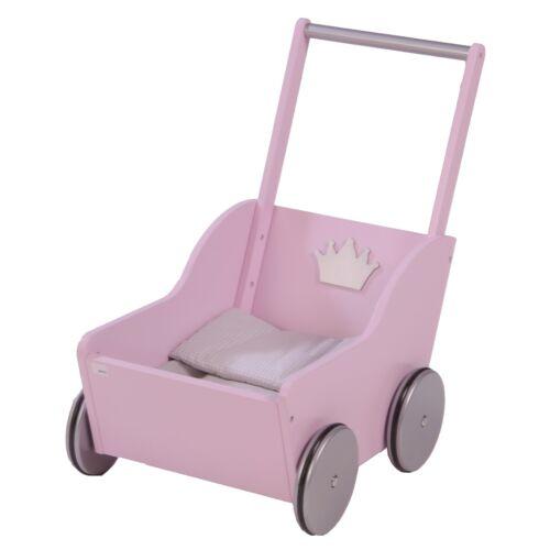 Roba Kids Puppenwagen Lauflernwagen Prinzessin Sophie rosa  NEU