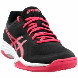 ASICS-Gel-Tactic-2-Sport-Sport-Womens-Sneakers-Shoes-Casual-Black