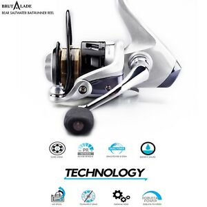 Fishing-Reel-Spinning-3000-Size-Superior-Value-amp-Quality-Brutalade-Reels