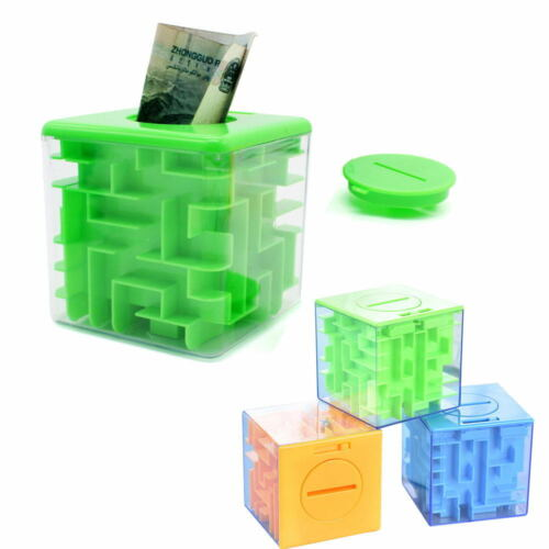 3D Money Maze Puzzle Box Puzzle Money Holder and Brain Teasers for Kids Adults