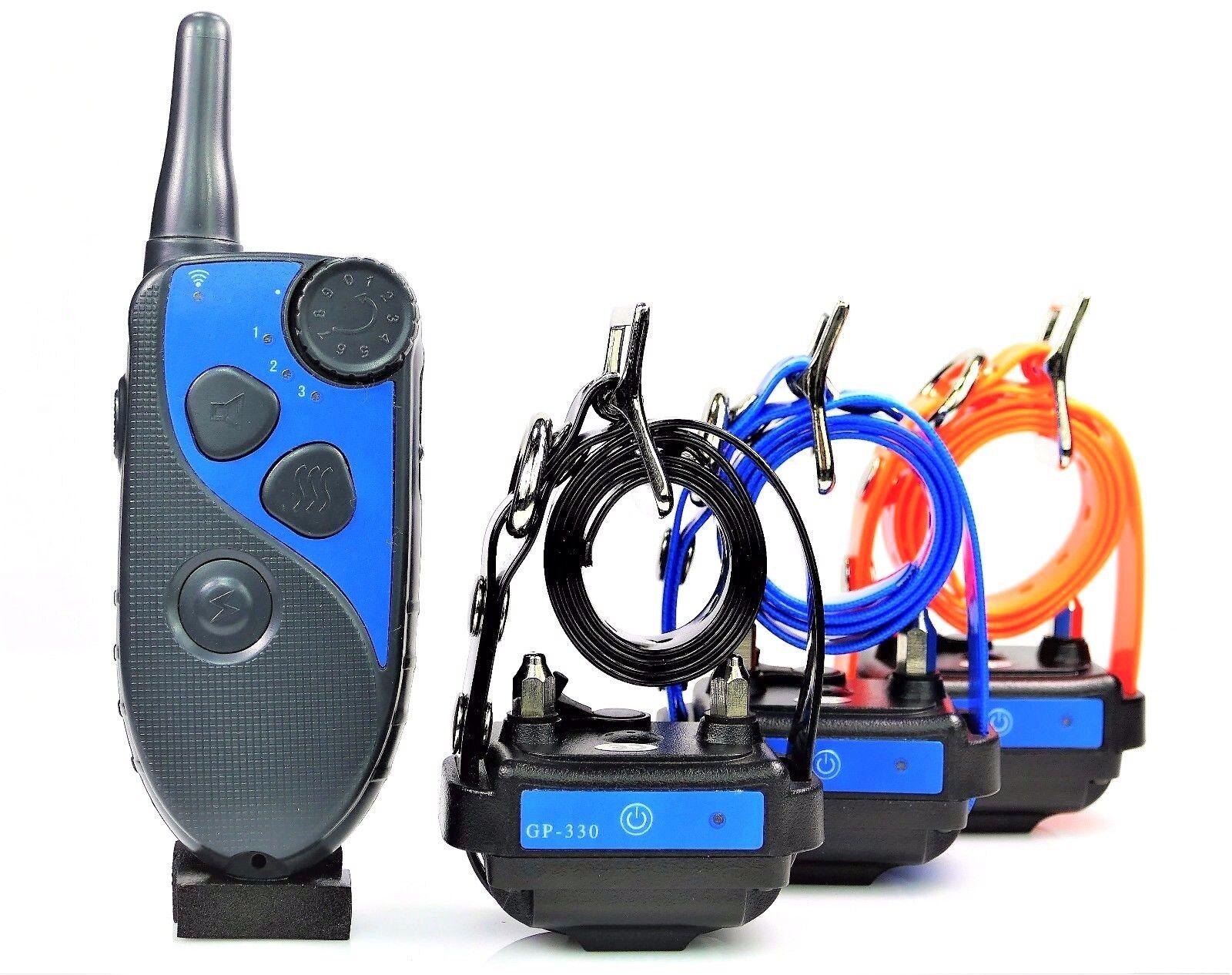 Waterproof  Rechargeable Rechargeable Rechargeable 600M Remote Dog Training Shock Collar No Bark Trainer 86d26d