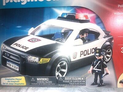 Playmobil CITY ACTION Police Cruiser #5673 Flashing Lights BRAND NEW SEALED
