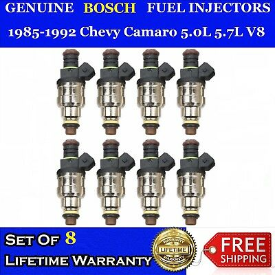 22LB 4 Hole Upgraded Bosch 8X Fuel Injectors for Corvette Camaro 5.0L 5.7L