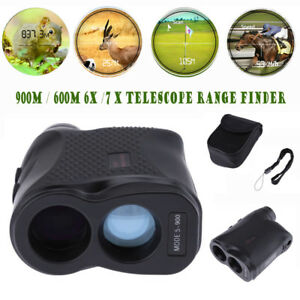 Waterproof-900M-6X-7X-Telescope-Laser-Range-Finder-Distance-Height-Speed-Meter