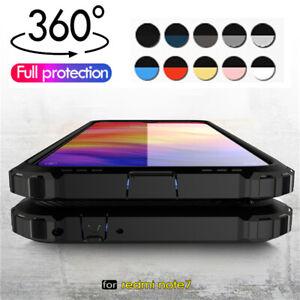 Per-Xiaomi-Redmi-9-9S-8-Note-7-9A-Slim-Hybrid-Pro-Armatura-Cover-Custodia-Rigida-Robusta