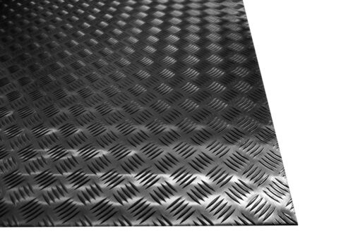 500X2000 mm Dim Lega 1050 H24 Lamiera Mandorlata Alluminio Spessore:2 mm