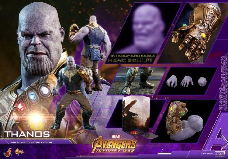 heta leksaker 1  6 MMS479 Thanos 415MM LED gatrödts handlingsmodellllerl