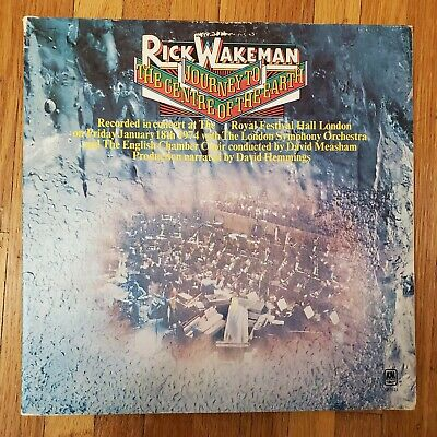 Rick Wakeman: Journey To The Center Of The Earth 1974 VG++ ...