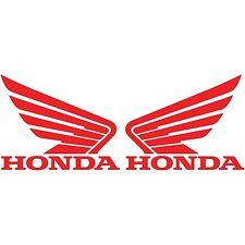 2 Honda wing Logo Vinyl Decal Car Truck Window Sticker Motorcycle Racing Bumper