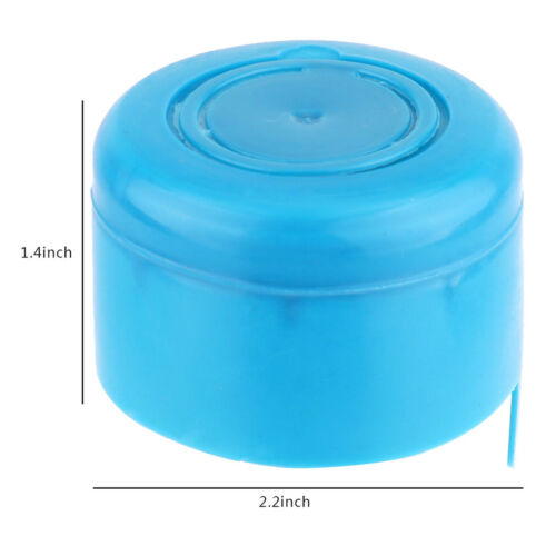 5Pcs`reusable water bottle snap on cap replacement for 55mm 3-5 gallon water-jug