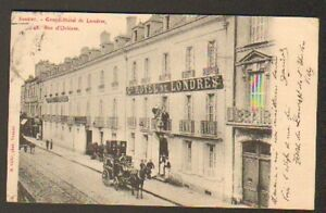 """SAUMUR (49) DILIGENCE au GRAND HOTEL DE LONDRES en 1909 - France - État : Occasion : Objet ayant été utilisé. Consulter la description du vendeur pour avoir plus de détails sur les éventuelles imperfections. Commentaires du vendeur : """"correct"""" - France"""