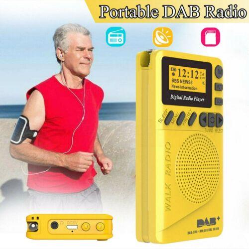 USB Cable Tragbares DAB//DAB+//FM Radio Receiver Mini Digital Radio MP3 Player