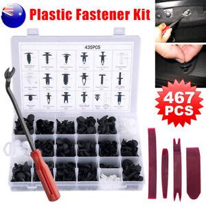 467PCS-Car-Body-Clips-Trim-Kit-Rivet-Door-Retainer-Panel-Plastic-Bumper-Fastener