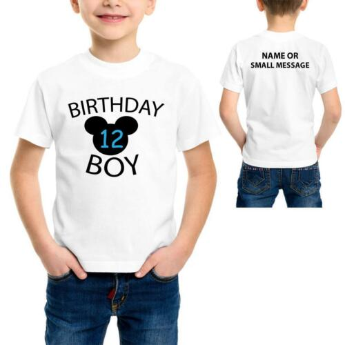 Birthday Boy2 3 4 5 6 7 8 9 10 11 12 13 Years Birthday Party Personalised T-S