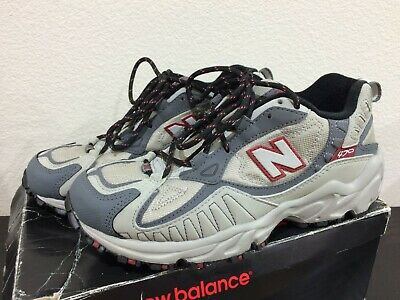 NEW Mens New Balance 470 Size 7 Grey/Red Running Vintage 2001 FOR COLLECTORS | eBay